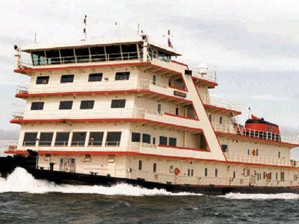 Oklahomans Can View Country's Largest Inland Tugboat
