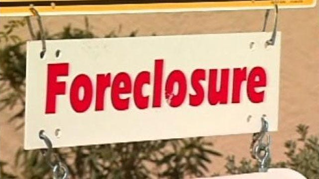Tulsa Area Realtors Say Foreclosures Are On The Rise