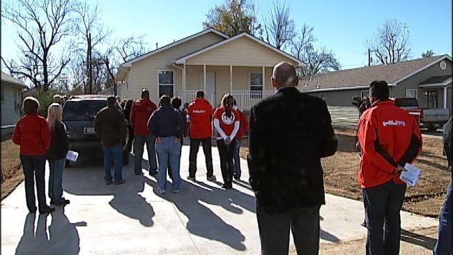 Tulsa Habitat For Humanity 'Fair' House Becomes A Home
