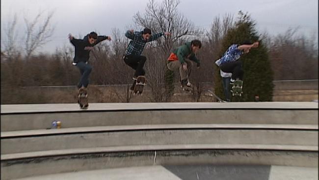 City Leaders Celebrate Opening Of New Tulsa Skate Park