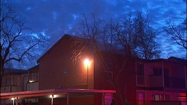 No One Injured In Tulsa Apartment Complex Fire Early Friday