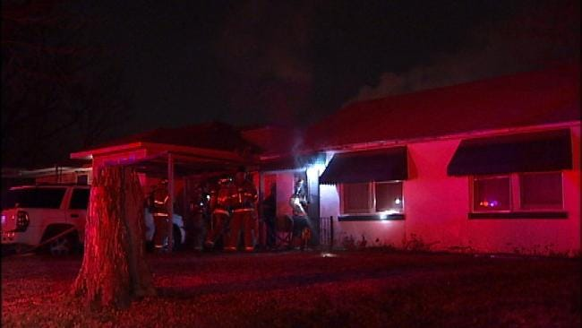 Space Heater Blamed For Tulsa House Fire