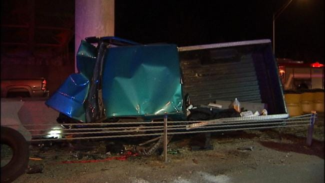 Driver Injured In Keystone Expressway Wreck