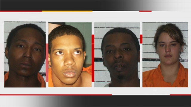 Four Charged In Muskogee Drive-By Shootings