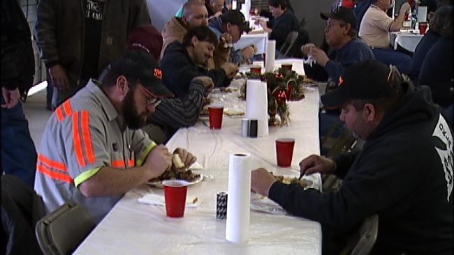 Green Country Businessman Provides Tasty Tradition For Law Enforcement Officers