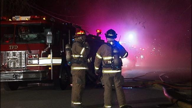 No One Injured In Early Wednesday Morning Tulsa House Fire