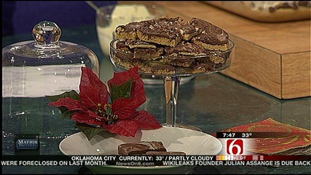 Light, Holiday Cookie Dough And Swirly Chocolaty Bars