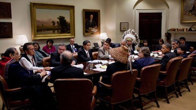 Osage Nation Chief Meets With President Obama