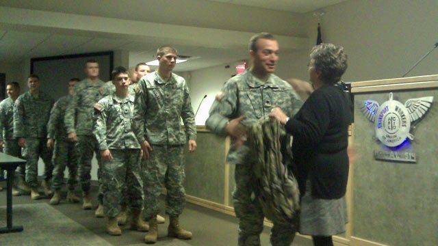 Oklahoma National Guardsmen Get Boost From Transport Workers Union