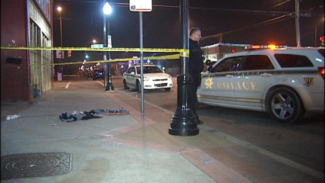 Two Men Stabbed In Downtown Tulsa Fight