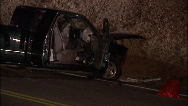 Driver Dies In South Tulsa Head-On Crash Wednesday Night