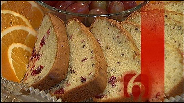 Lemon Cranberry Loaves