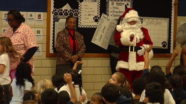 Tulsa Students Given 'Ultimate Christmas'