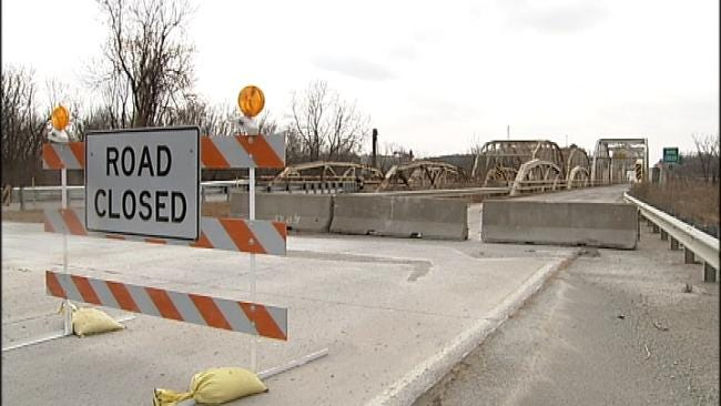 ODOT Diverting Traffic On Route 66 Bridge In Rogers County