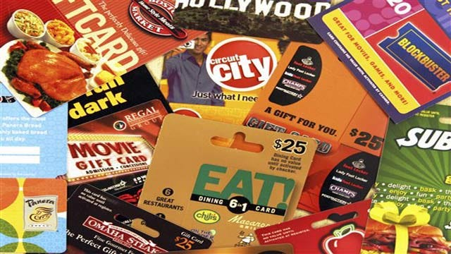 Best, Worst Gift Cards For Christmas