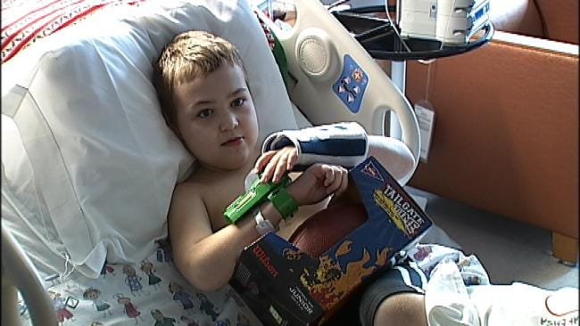 Green Country EMSA Medics Deliver Toys To Hospitalized Kids
