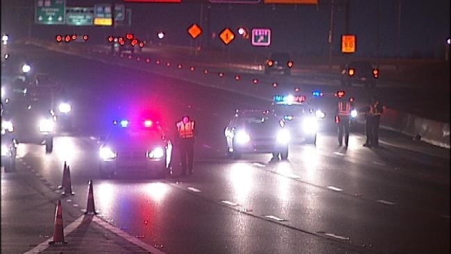 New Couch On Roadway Causes Tulsa Traffic Collision