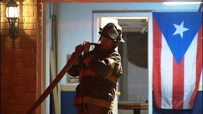 Dog Knocks Over Heat Lamp Causing Tulsa House Fire
