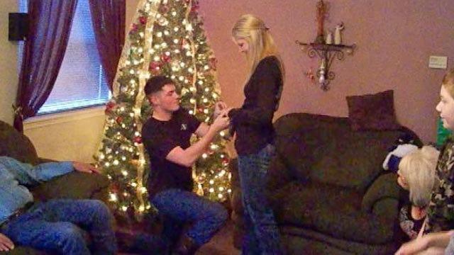 Tulsa Marine Pops Big Question On Christmas Day