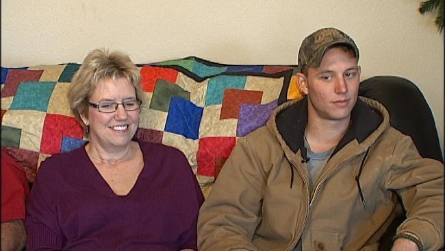 Broken Arrow Marine Mom Gets 'Best Christmas Surprise…Ever'
