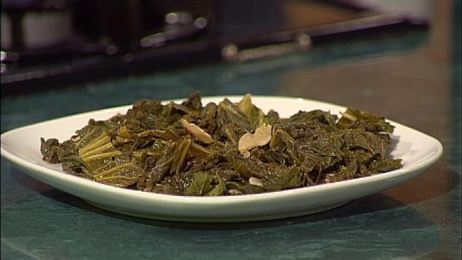 Sautéed Greens with Garlic