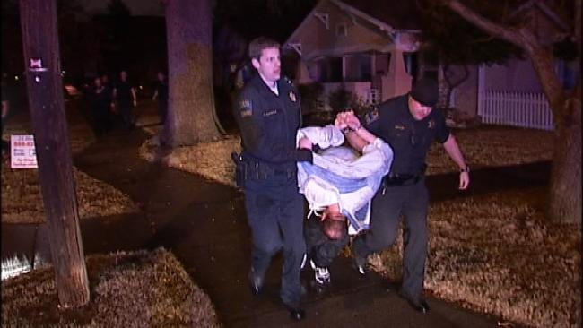 Suspected Hit And Run Driver Fails In His Efforts To Flee From Tulsa Police