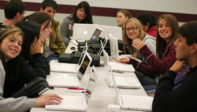Sequoyah Students Get Different Apple A Day For Education