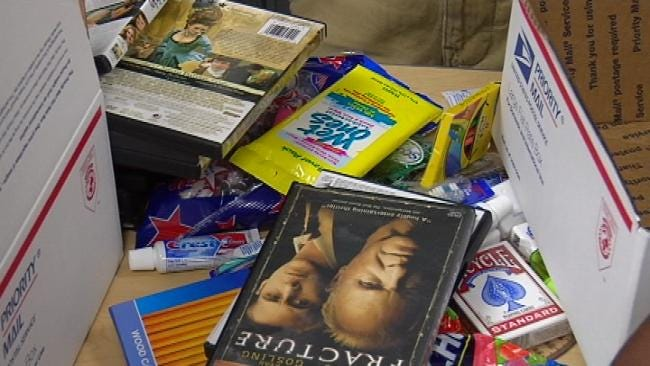 Tulsa Students Send Care Packages To Troops Overseas