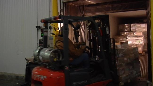 Community Food Bank of Eastern Oklahoma Gets Meat Donation