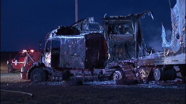 Crash On U.S. Highway 75 At Tulsa-Washington County Line Closes Highway