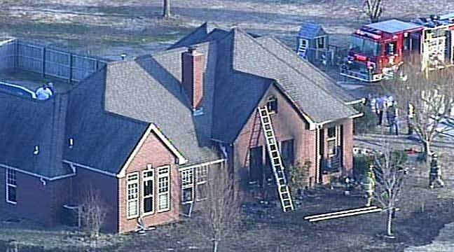 Tulsa Firefighter Loses Home To Wind-Fueled Fire
