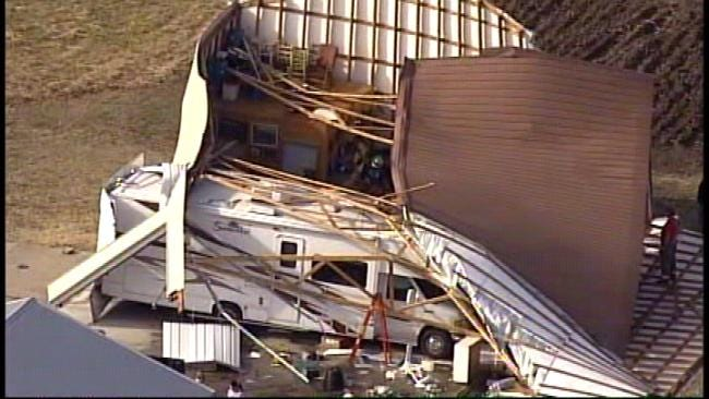 Adair County Community Escapes Damage From Arkansas Tornado