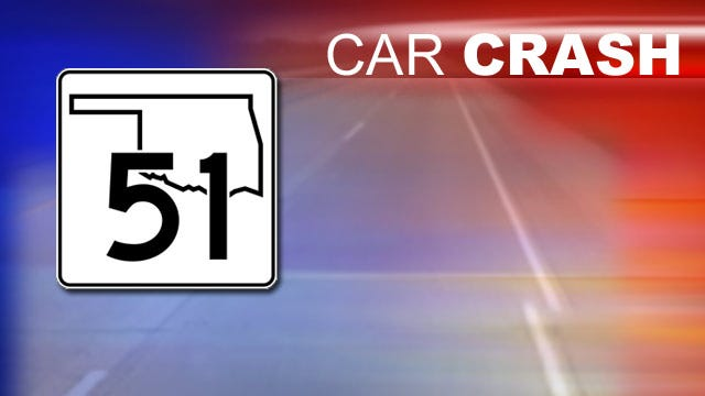 Wreck On Tulsa's BA Expressway Slows Monday Morning Traffic