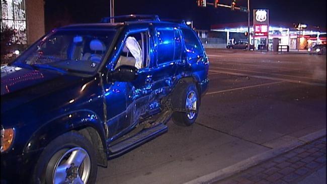 Accidental Shooting Leads To Crash Near Tulsa Hospital