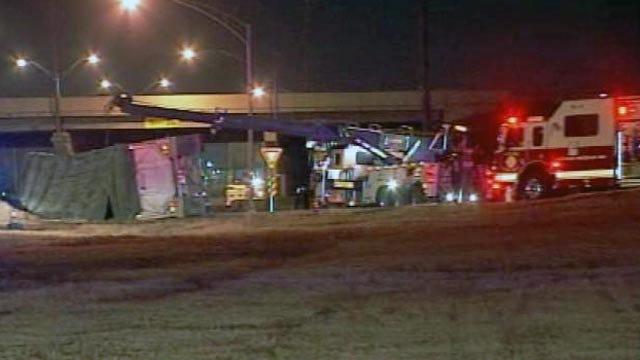 Two Crashes At I-44 Exit Ramp Cause Massive Backup On BA Expressway
