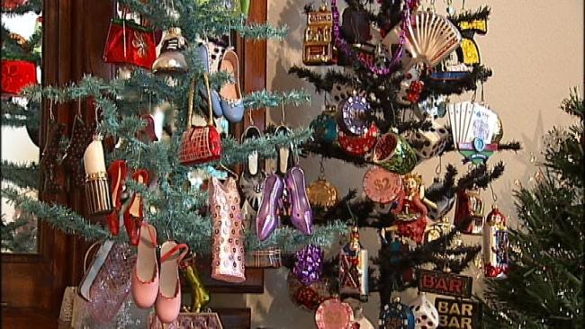 Oklahoma's Own: Dewey Couple Decorates Home With More Than 100 Christmas Trees