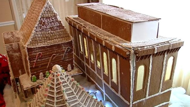 Tulsa's Inverness Village Unveils Holiday Masterpiece