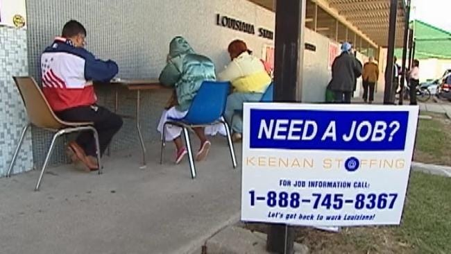 Out-Of-Work Oklahomans Hope For Benefits Extension