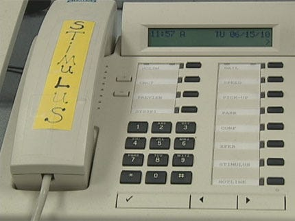 Oklahoma's Stimulus Fraud Hotline Not Getting Many Calls