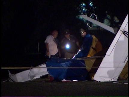 Feds Investigate Sunday's Fatal Plane Crash At Owasso Airport