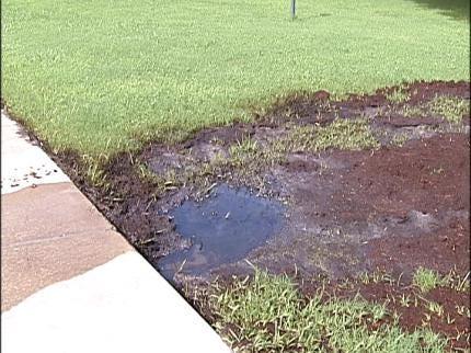 Leak At Jenks Oil Storage Yard Irks Neighbors
