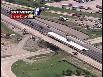 I-44 Construction Project In East Tulsa Enters New Phase
