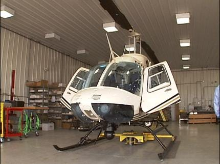 Mayor Agrees To Put One Tulsa Police Helicopter Back In Service