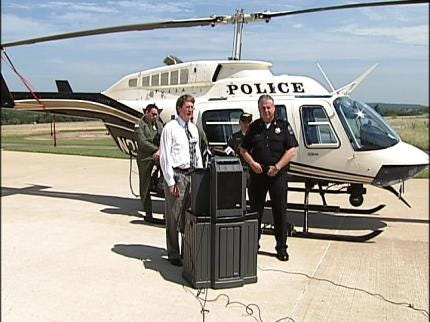 Tulsa Police Helicopter To Return To Tulsa Skies Friday Evening