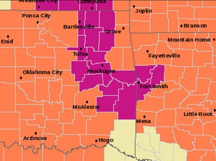 Excessive Heat Warning Extended Through Tuesday