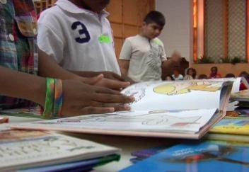 BOK Book Drive Brings Donated Books to Children Needing Them