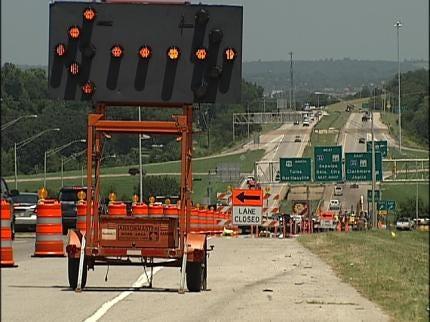Construction Begins On Highway 75 Interchange In Tulsa