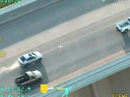 Tulsa Police Helicopter Back In The Air Captures Dramatic Chase
