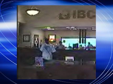 Man Robs Tulsa IBC Bank
