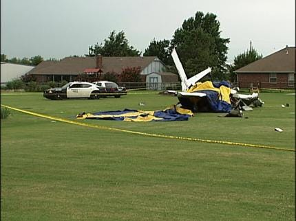 NTSB Report: Witnesses Saw Plane Go Into Spin Before Fatal Crash In Owasso